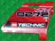 Part No: 44352pb01  Name: Technic, Panel Fairing #22 Large Short, Small Hole, Side A with '8272', Snowflake and Technic Logo Pattern (Sticker) - Set 8272