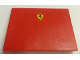 Part No: 4515pb052  Name: Slope 10 6 x 8 with Ferrari Logo Pattern (Sticker) - Set 8654