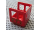 Part No: 4544pb04  Name: Duplo, Train Steam Engine Cabin with Plaque and Number 7 Pattern