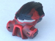 Part No: 47327pb01  Name: Bionicle Mask Kiril with Black Top (Dume)