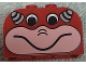 Part No: 4744pb14  Name: Brick, Modified 2 x 4 x 2 Double Curved Top with Face and Horns Pattern