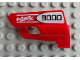 Part No: 47712pb05  Name: Technic, Panel Fairing #24 Small Short, Small Hole, Side B with 'MSX 3000' Pattern (Sticker) - Set 8682