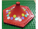 Part No: 4841pb01  Name: Fabuland Merry-Go-Round Type 2 Roof with Spots Pattern (Stickers) - Set 3683