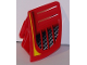 Part No: 49816pb01  Name: Technic, Panel RC Car Mudguard Small, Left with Vents Pattern (Sticker) - Set 8378