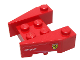 Part No: 50373pb06  Name: Wedge 3 x 4 with Stud Notches with Ferrari Logo and White 'ETIHAD AIRWAYS' on Red Background Pattern on Both Sides (Stickers)