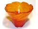 Part No: 50663pb06  Name: Tornado Spiral with Glitter Trans-Orange Top Pattern