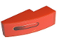 Part No: 50950pb003L  Name: Slope, Curved 3 x 1 with Taillight Pattern Left (Sticker) - Set 8671
