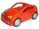 Part No: 53899c02  Name: Duplo Car Coupe with Red Base, Headlights