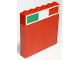 Part No: 59349pb131  Name: Panel 1 x 6 x 5 with Italian Flag on Top Pattern (Sticker) - Set 75913