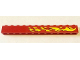 Part No: 6112pb004R  Name: Brick 1 x 12 with Yellow Flames Right Pattern (Sticker) - Set 6580