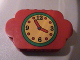 Part No: 6214pb01  Name: Brick, Modified 2 x 8 x 4 Triple Curved Ends with Clock Pattern