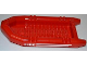 Part No: 62812pb03  Name: Boat, Rubber Raft, Large with 'FIRE' and White Stripes Pattern on Both Sides (Stickers) - Set 7213