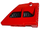 Part No: 64680pb001  Name: Technic, Panel Fairing #14 Large Short Smooth, Side B with 2 Air Intakes Pattern (Sticker) - Set 8070