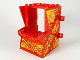Part No: 65067pb03  Name: Minifigure, Utensil Arcade Game Cabinet Body with Fire Game Pattern (Stickers) - Set 71714