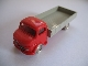 Part No: 653pb01  Name: HO Scale, Mercedes Open Bed Truck, Gray Flatbed