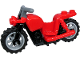 Part No: 65521c01  Name: Motorcycle Chopper with Black Frame, Light Bluish Gray Wheels and Dark Bluish Gray Handlebars