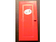 Part No: 671pb02  Name: Door 1 x 6 x 10 with '232' Pattern (Sticker) - Set 232