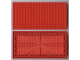 Part No: 700eD  Name: Brick 10 x 20 with Bottom Tubes in single row around edge, with '+' Cross Support