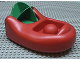 Part No: 72111c01  Name: Primo Vehicle Boat with Green Paddle Wheel