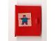 Part No: 838pb05  Name: Homemaker Cupboard Door 4 x 4 with Man Pattern (Sticker) - Set 261-4