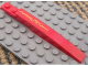 Part No: 85970pb002L  Name: Slope, Curved 10 x 1 with 'Lightning McQueen' Pattern Model Left (Sticker) - Set 8484