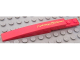 Part No: 85970pb002R  Name: Slope, Curved 10 x 1 with 'Lightning McQueen' Pattern Model Right (Sticker) - Set 8484
