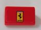 Part No: 85984pb250  Name: Slope 30 1 x 2 x 2/3 with Ferrari Logo Pattern (Sticker) - Set 75890