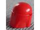 Part No: 87610  Name: Minifigure, Headgear Helmet with Holes, SW Mandalorian, Plain