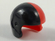 Part No: 93560pb03  Name: Minifigure, Headgear Helmet Sports with Black Right Side Pattern