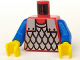 Part No: 973p41c02  Name: Torso Castle Scale Mail Pattern / Blue Arms / Yellow Hands