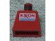 Part No: 973pb0034  Name: Torso Exxon Logo Pattern