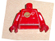 Part No: 973pb0067c01  Name: Torso Space Classic Moon Pattern (Sticker) / Red Arms / Red Hands