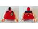 Part No: 973pb0337c01  Name: Torso Harry Potter Tournament Black Shoulders Pattern / Light Flesh Arms / Light Flesh Hands