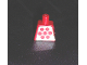 Part No: 973pb0385  Name: Torso Idea Book 6000 Mary with 7 Red Dots Pattern (Sticker)