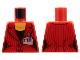 Part No: 973pb0895  Name: Torso Suit Jacket, Two Buttons, Necklace, Press Pass Pattern