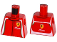 Part No: 973pb2143  Name: Torso Speed Champions with Ferrari and AFcorse Logo Pattern