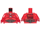 Part No: 973pb3123c01  Name: Torso SW Kessel Operations Droid Pattern / Red Arms / Red Hands