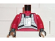 Part No: 973ps1c02  Name: Torso SW Rebel Pilot Pattern / Red Arms / Black Hands