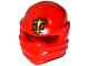 Part No: 98133pb07  Name: Minifigure, Headgear Ninjago Wrap with Gold Asian Character Pattern (Kai)