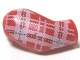 Part No: 982pb007  Name: Arm, Right with Plaid Shirt Pattern