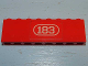 Part No: BA009pb03  Name: Stickered Assembly 8 x 1 x 2 with White '183' Pattern (Sticker) - Set 183 - 2 Bricks 1 x 8