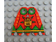 Part No: bb0189pb01  Name: Minifigure, Cape Cloth, Angular Points with Amazon Achu Pattern