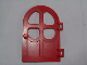 Part No: bb0923  Name: Fabuland Door 1 x 6 x 7 with Round Pane in 4 Sections, Round Top