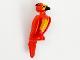 Part No: bb1155pb01  Name: Phoenix with Black Beak and Bright Light Orange Face and Chest Pattern (HP Fawkes)