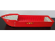 Part No: bfloat3c01pb02  Name: Boat Hull Unitary 38 x 10 x 5 2/3 with Fire Helmet, Classic Fire Logo and '4020' Pattern on Both Sides (Stickers) - Set 4020