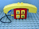 Part No: dupphonec01  Name: Duplo Push-Button Telephone Brick with Ear / Mouthpiece (For Humans)