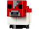 Part No: minecow04  Name: Minecraft Cow, Mooshroom, Baby - Brick Built