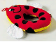 Part No: pri027  Name: Primo Cloth Animal Ladybug