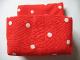 Part No: pri073  Name: Primo Cloth Sleeping Bag Double with White Dots Pattern