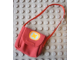 Part No: scl027  Name: Scala, Cloth Purse with Yellow X in Yellow Circle Pattern